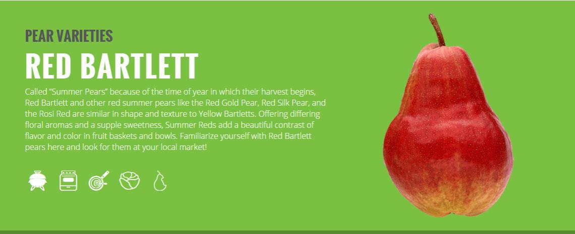 red bartlett