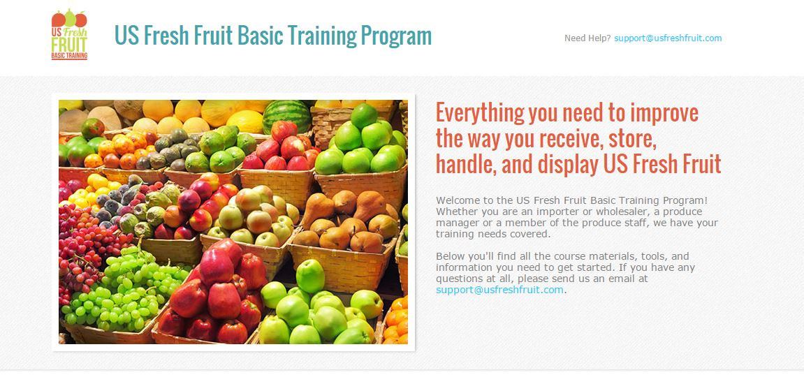 US Fresh Fruit Importer Training – USA Pears Trade Site